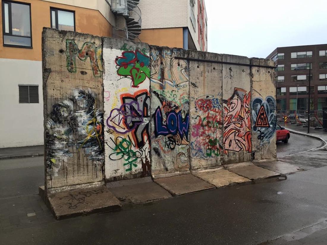 Berlin Wall in Trondheim