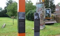 Berlin Wall in Hohen-Neuendorf, Germany