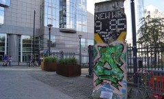 Berlin Wall in Brussel, Belgium