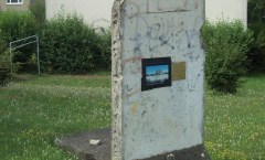 Berlin Wall in Wertheim, Germany