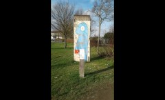 Berlin Wall in Bischofsheim