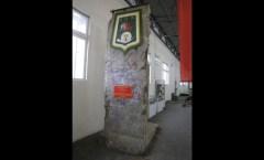 Berlin Wall in Saumur, F