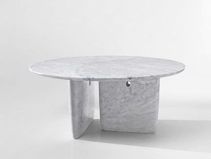 carrara white marble table Bangkok model