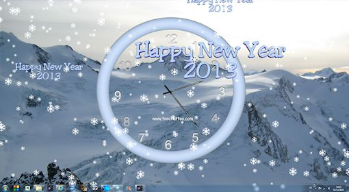 animated new year screensavers