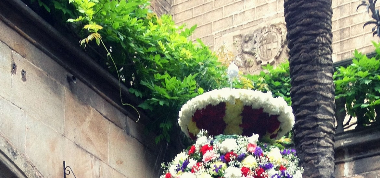 L'ou com ball Barcelona Cathedral