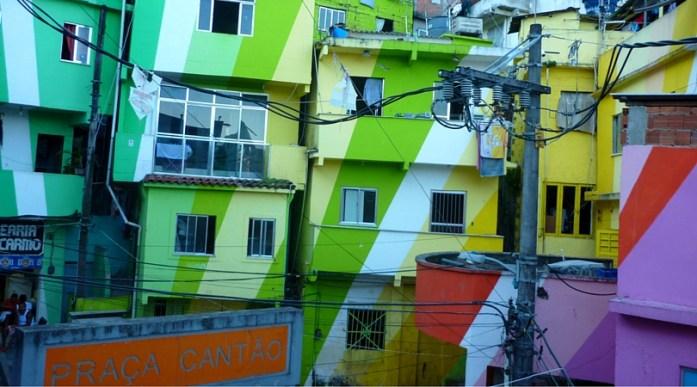 Favela Painting Project, Rio de Janeiro