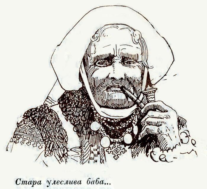 """""""Shadows of Forgotten Ancestors"""" in the illustrations by Olena Kulchytska"""
