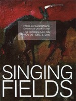 Fedir Alexandrovich. Singing Fields. Exhibition catalogue