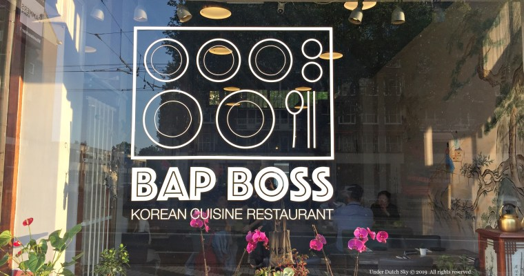 Best Korean Food in Rotterdam: Bap Boss