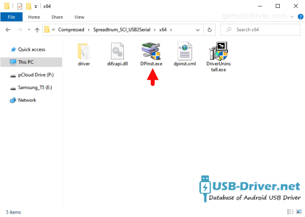 Download Mycell S1 USB Driver - spreadtrum sci dpinst