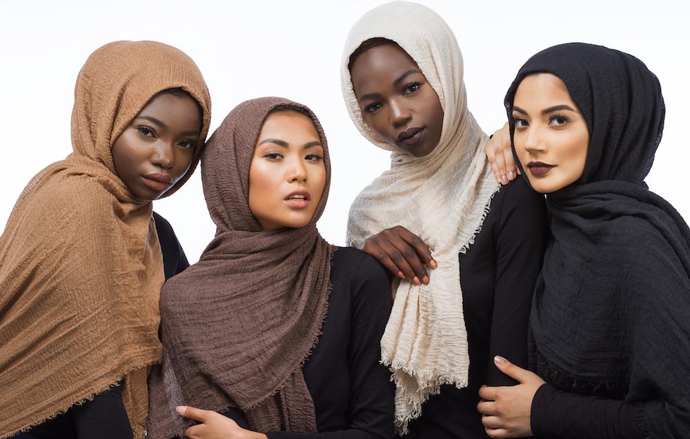 This surname of indian orig. Habiba Da Silva Hijabs For Every Skin Tone   Vogue Arabia