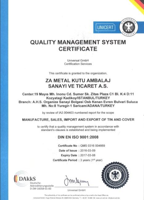 ISO 9001 En