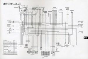 Wiring diagram for Lexmoto street 125