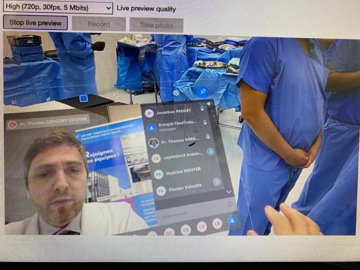 cirugía de realidad mixta