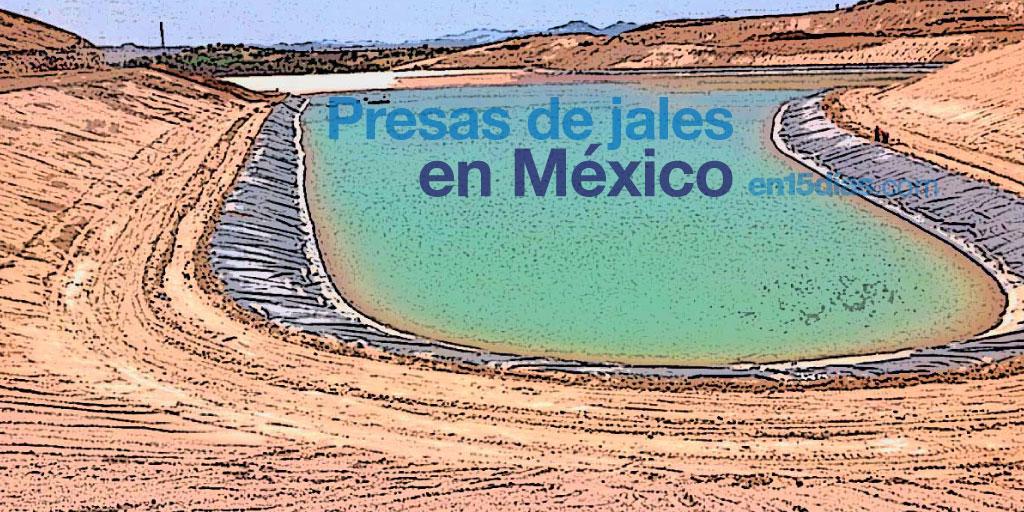 presas de jales en México