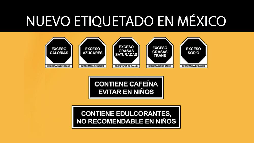 etiquetado de alimentos preenvasados en México