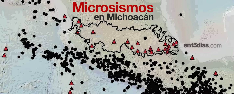 enjambres sísmicos Michoacán