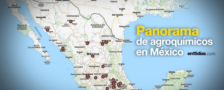 Empresas que fabrican plaguicidas en México