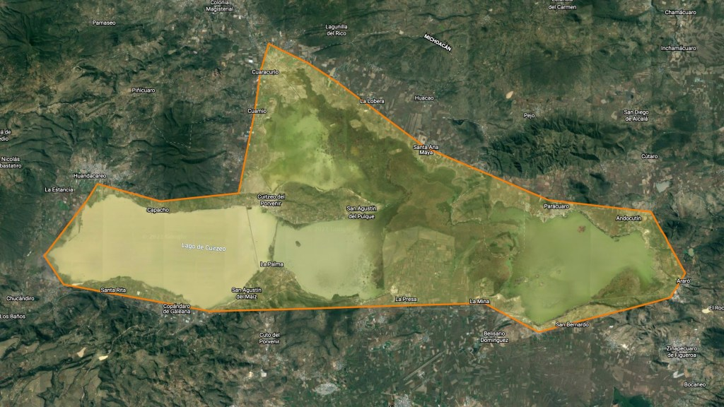 Plan Emergente de Rehabilitación del Lago de Cuitzeo