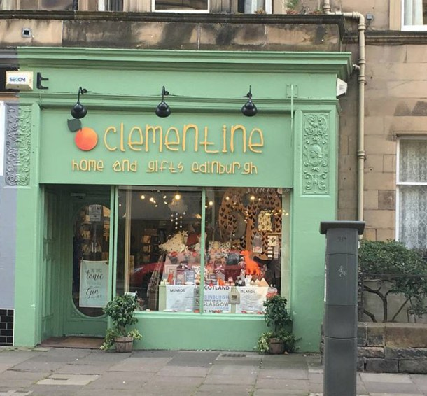Clementine on Bruntsfield Place. Credits to Daisy Smith