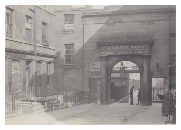 Stockbridge Market 1890