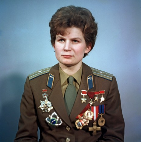 A protrait of Valentina tereshkova