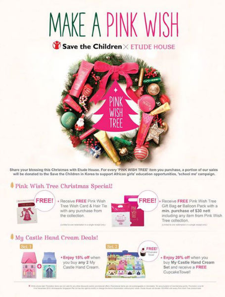 The Definitive Christmas 2014 Beauty Gift Guide For Her Enabalista 012 Etude House Pink Wish Tree