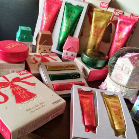 The Definitive Christmas 2014 Beauty Gift Guide For Her Enabalista Netaporter Beauty Box Pink Wish Tree Etude House Collection 001