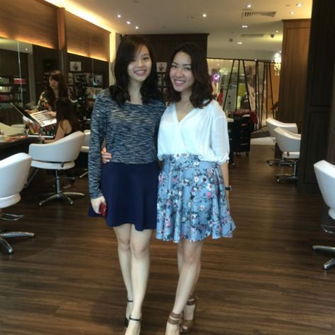 Plaza Singapura Pamper Session Le Blanc By Mashu Salon Review Nanas Green Tea Lunch Review 020