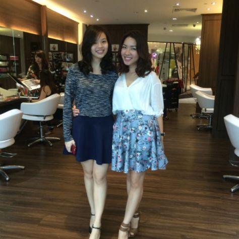 Plaza Singapura Pamper Session Le Blanc By Mashu Salon Review Nanas Green Tea Lunch Review 020
