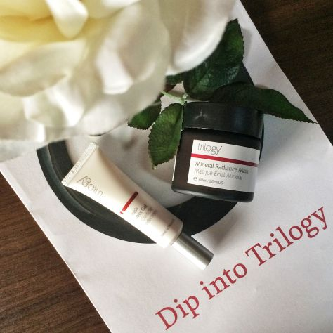 Trilogy New Blemish Control Gel & Mineral Radiance Mask Blogger Review