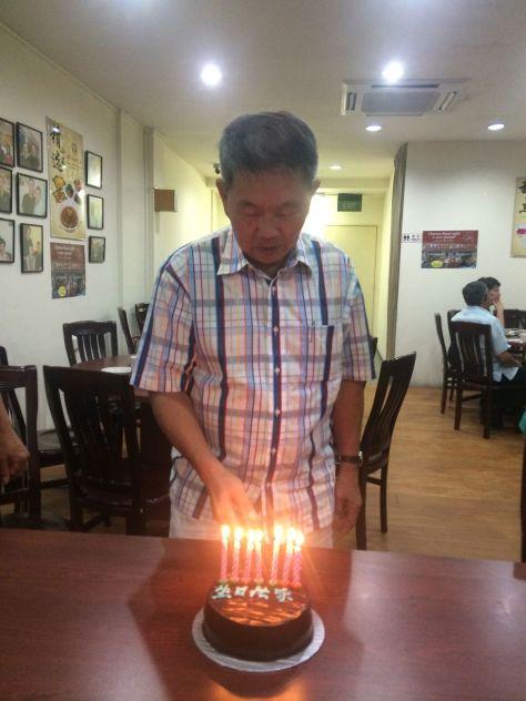 Dad Birthday Celebration  006