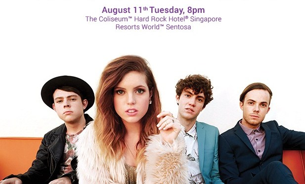 Cool Kids Echosmith Live in Singapore!