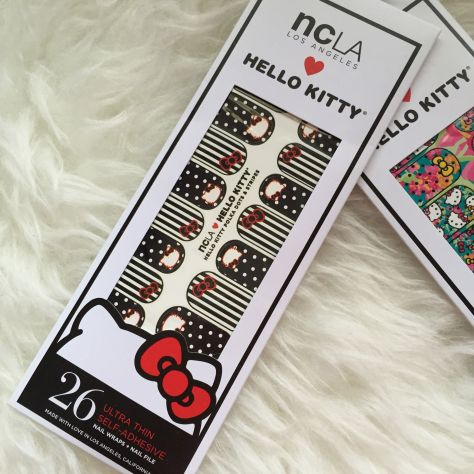 NCLA Hello Kitty Nail Stickers 004