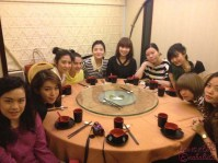 Snap of us at Tim Ho Wan lunch~!!! ^^