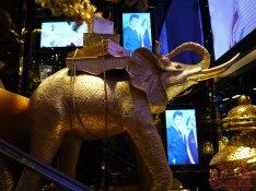 Thai inspired visual merchandising at HK DFS
