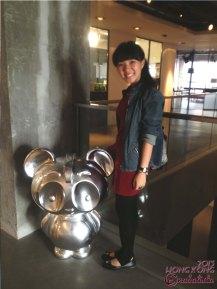Posing with Nico Panda~
