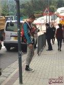 Sneak street style on the streets, haha.