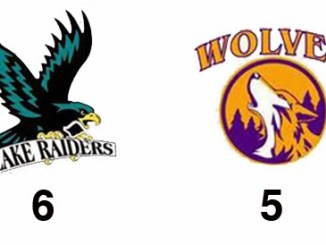 TPWHL Lake Raiders vs Wolves