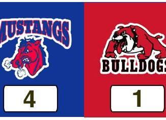TPWHL Mustangs vs Bulldogs