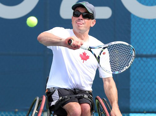 Wheelchair Tennis: Joel Dembe went out with a Bang