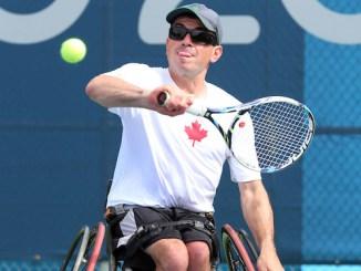 Joel Dembe wheelchair tennis