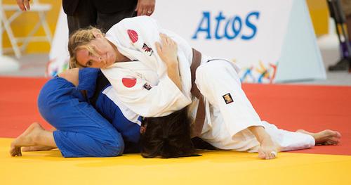 Priscilla Gagne Judo