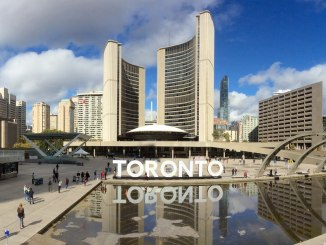 Photo of Nathan Phillips Square and Toronto City Hall
