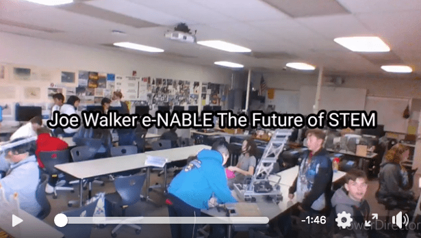 Joe Walker Middle School enters the #enableSTEMchallenge