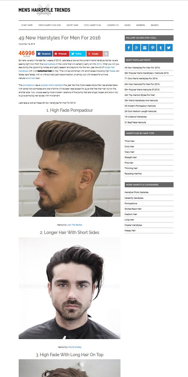 undercut haircut