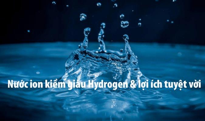 Nước có tính kiềm rất tốt cho sức khỏe