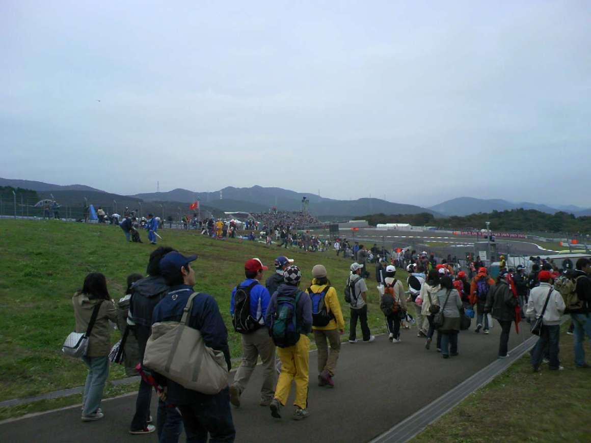 2008 FIA Formura 1 Japanese Grand Prix Final day 驚いた!