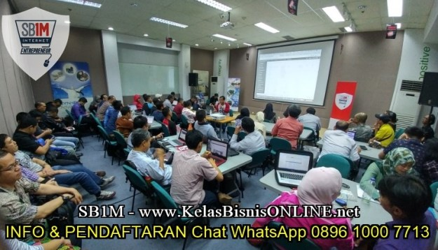 Tempat Belajar Internet Marketing SB1M Samarinda 0896 1000 7713