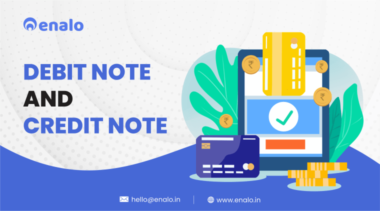 debit note and credit note